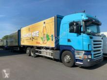 Camion plateau brasseur Scania P420*EURO5* Anhänger Orten*DoppelAHK*TÜV neu