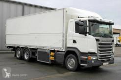 Caminhões furgão porta bebidas Scania G G 450 6X2*4 Schwenkwand LBW Lenkachse Retarder