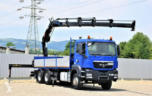 Voir les photos Camion MAN TGS 26.440 Pritsche 6,50 m+HIAB 166E-4HIPRO+FUNK