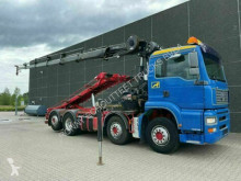 Camion porte containers MAN TGA 35.350 8x2-4 BL Seilabroller, Kran HIAB 211, Funk 35.350 8x2-4 BL Seilabroller, Kran HIAB 211, Funk
