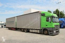 Camión lonas deslizantes (PLFD) Mercedes ACTROS 2541, EURO 5, RETARDER+SCHWARZMULLER TPAK