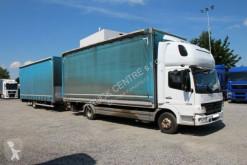 Kamyon sürgülü tenteler (plsc) Mercedes ATEGO 1018 L, EURO5,TAIL LIFT+TRAILER AUTOVIA