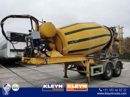MOL betonkeverő beton félpótkocsi MIXER stetter 10,5 m3
