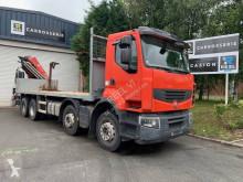 Camión caja abierta teleros Renault Premium Lander 380 8x4