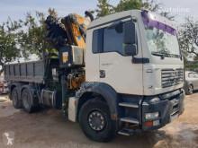 Camión MAN 410 6X2 GRUA PM 41 S EQUIV PK 44 volquete usado