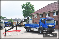 Camión caja abierta teleros MAN TGS 26.360 BL 6x4 Kran Hiab 211-4 Pritsche