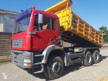 MAN TGA 33.480 truck used three-way side tipper