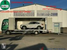 Ciężarówka do transportu samochodów MAN TGL TGL 9.220 geschlossen + extralange Rampen Klima