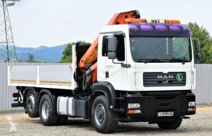 Camion MAN TGA 26.430 Pritsche 5,50m +PK 23002 + FUNK/6-4H2 platformă second-hand