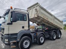 Camion tri-benne MAN TGS TGS 35.480 8x4 BB Meiller Dreiseitenkipper AHK (7)