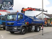 Camion MAN TGM TG-M 18.290 K 4x2 2-Achs Kipper Kran Funk+Greiferst tri-benne occasion