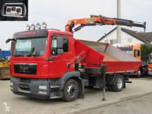 卡车 双侧翻加后翻式自卸车 曼恩 TGM TG-M 15.290 2-Achs Kipper Kran Funk