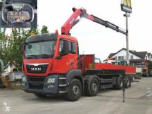Camion MAN TGS TG-S 35.360 8x2 BL Pritsche Kran Kran 26m to Funk plateau ridelles occasion