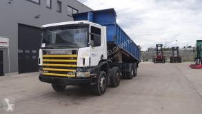 Scania billenőkocsi teherautó 114 - 340 (BOITE MANUELLE / SUSP. LAMES / 8X4)