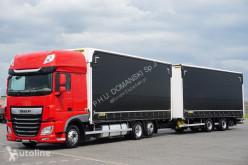 Camión lonas deslizantes (PLFD) DAF / 106 / 480 / SSC / ACC / EURO 6 / ZESTAW PRZEJAZDOWY 120 M3 + remorque rideaux coulissants