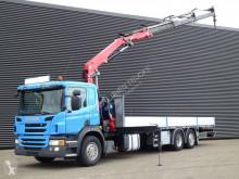 Camión caja abierta Scania P 320