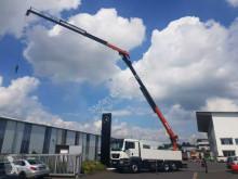 Camión caja abierta teleros MAN TGS TGS 26.500 6x2 Pritsche/Kran Atlas 250.2T-A27 27