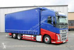 Volvo FH 460 6X2 Jumbo Schiebeplane Edscha Hubdach ACC truck used tarp