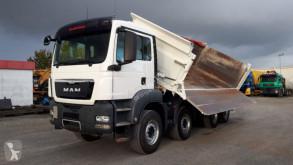 Camion tri-benne MAN TGS TG-S 35.440 8x4 BB 4-Achs Kipper