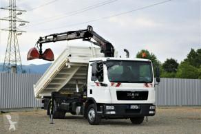 Camion MAN TGL 12.180 Kipper 4,20m+HIAB 088 ES - 2 DUO ! plateau occasion