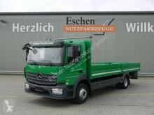 Lastbil flatbed sidetremmer Mercedes Atego 1221 Atego Pritsche*3 Sitze*AHK*EUR6*Automatik