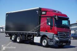 Camion rideaux coulissants (plsc) MERCEDES-BENZ / ACTROS / 2543 / E 6 / 6 X 2 / FIRANKA + WINDA / 18 EUROPALET /