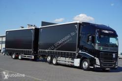 Camion rideaux coulissants (plsc) Volvo FH / / 500 / XXL / ACC / EURO 6 / ZESTAW PRZEJAZDOWY 120 M3 + remorque rideaux coulissants