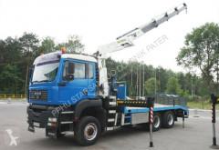 Camion porte voitures MAN TGA 33.410 6x6 Palfinger PK 26502 Crane Kran