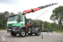 Iveco Iveco TRAKKER AD 400 FASSI 360 XP Crane Kran truck used flatbed