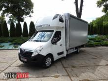 Vrachtwagen Opel MOVANOPLANDEKA 10 PALET KLIMATYZACJA WEBASTO TEMPOMAT PNEUMATYK tweedehands met huifzeil