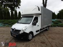 Camion Renault MASTERPLANDEKA 10 PALET KLIMATYZACJA WEBASTO TEMPOMAT PNEUMATYK savoyarde occasion