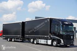 Kamión Volvo FH / 460 / XXL / ACC / EURO 6 / ZESTAW PRZEJAZDOWY 120 M3 + remorque rideaux coulissants plachtový náves ojazdený