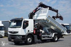 Vrachtwagen kipper Renault Premium / / 320 / WYWROTKA + HDS / PILOT / ROTATOR / ŁYŻKA