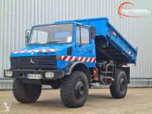 Ciężarówka Unimog U1700 wywrotka trójstronny wyładunek używana