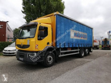 Kamión plachtový náves Renault Premium Lander 380.26