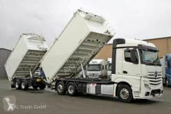 Lastbil med anhænger ske kornsort Mercedes Actros 2545 L Getreidekipper-Zug Kempf Kompressor