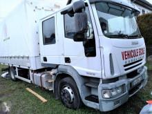 Camion Iveco Eurocargo SAVOYARDE DOUBLE CABINE rideaux coulissants (plsc) occasion
