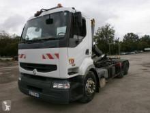 Camión Gancho portacontenedor Renault Premium Lander 420.19 DCI