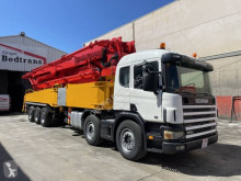 Camión Scania R420 hormigón bomba de hormigón usado