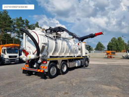 Camion aspirapolvere Scania Larsen 4 VAC Vacuum suction-blower charger Saugbagger