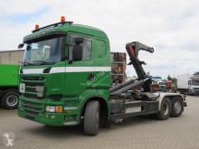 Caminhões Scania R 400 6x2 Abollkippe Meiller Schub+Knickhaken poli-basculante usado