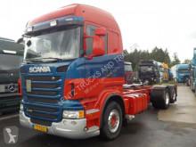 Camion Scania R480-MANUAL-RETARDER-NEUER MOTOR 100000KM châssis occasion