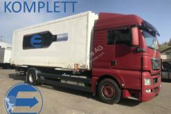 Teherautó MAN TGX TGX 18.400 mit Wechselbrücke Koffer használt furgon