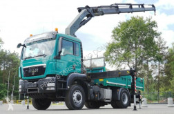 Camion plateau MAN TGS 18.440 4x4 H Palfinger PK 27002 HYDRODRIVE