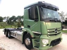 Camion polybenne Mercedes Antos 25.43 FULL PNEUMATICO 3 ASSI 6X2 A
