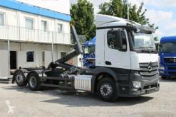 Kamión Mercedes ACTROS 2536, EURO 6, MEILLER KIPPER, LIFT AXLE hákový nosič kontajnerov ojazdený