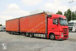 Lastbil Mercedes ACTROS 2541, EURO 5, 18 PALLETS+PANAV TV 18 L glidende gardiner brugt