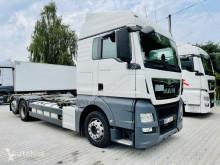 MAN konténerszállító teherautó TGX 26.420 E6 6x2 BDF do zabudowy , podwozie