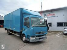 Ciężarówka furgon furgon drewniane ściany Renault Midlum 180.12 DXI