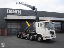 Scania konténerszállító teherautó G 480
